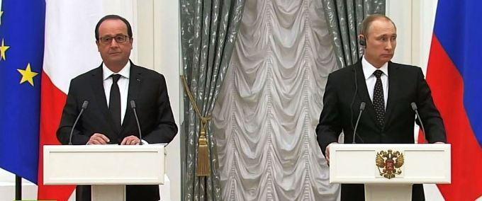 プーチン&オランド