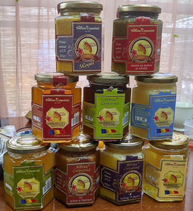 ルーマニアの蜂蜜