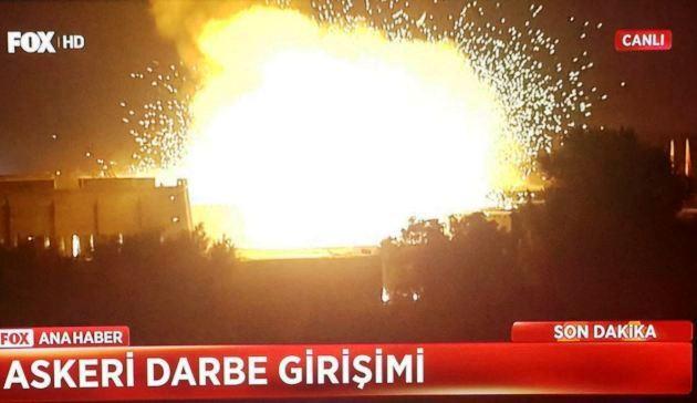 トルコ国会が爆破された